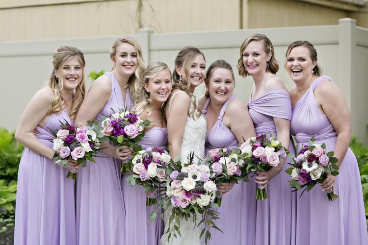 Bridesmaids at The Willows Strasburg Pa